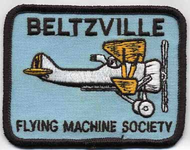Beltzville Flying Machine Society Club Patch